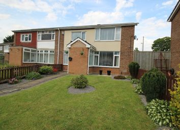 Thumbnail 2 bed semi-detached house for sale in Malvern Crescent, Darlington