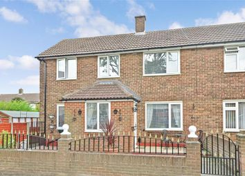 Thumbnail 3 bed end terrace house for sale in Bodiam Close, Twydall, Gillingham, Kent