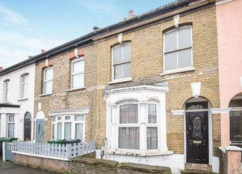 Thumbnail 3 bed terraced house for sale in Crownfield Road, London