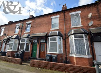 Thumbnail 2 bed terraced house for sale in Clarence Road, Erdington, Birmingham.