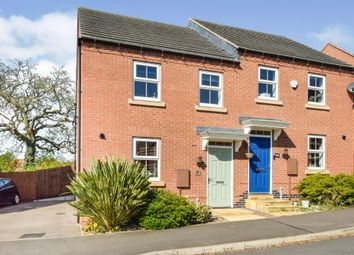 Thumbnail 3 bed semi-detached house for sale in Dairy Way, Kibworth Harcourt, Leicester