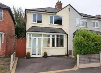 Thumbnail 3 bed semi-detached house for sale in Merrions Close, Birmingham