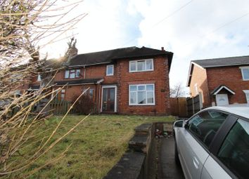 Thumbnail 3 bedroom semi-detached house for sale in West Bromwich Road, Walsall