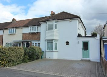 Thumbnail 3 bed end terrace house for sale in Boleyn Drive, West Molesey