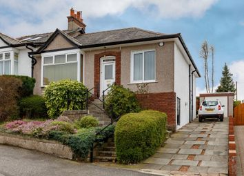 Thumbnail 2 bed semi-detached bungalow for sale in 14 Merryvale Avenue, Giffnock