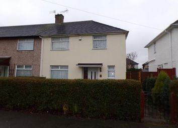 Thumbnail 3 bed end terrace house for sale in Lansing Close, Clifton, Nottingham, Nottinghamshire