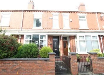 Thumbnail 3 bed terraced house for sale in Cavendish Road, Stretford, Manchester
