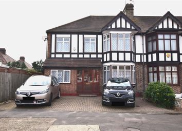 Thumbnail 3 bedroom end terrace house for sale in Havering Gardens, Chadwell Heath, Romford