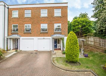 Thumbnail 4 bedroom town house for sale in Thorne Close, Claygate, Esher
