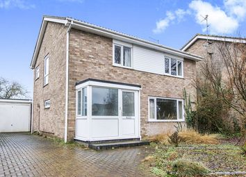Thumbnail 4 bed detached house for sale in Bradwell Road, Longthorpe, Peterborough