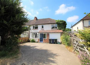 Thumbnail 4 bed semi-detached house for sale in Bradenham Road, West Wycombe, High Wycombe