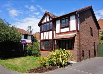 Thumbnail 3 bed detached house for sale in Rothschild Close, Southampton