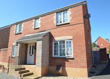Thumbnail 4 bed detached house for sale in Drake Close, Cullompton