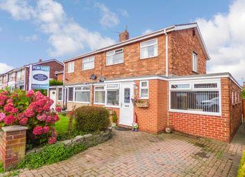 Thumbnail 4 bed semi-detached house for sale in Ashington Drive, Choppington