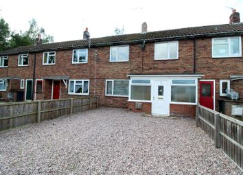 Thumbnail 2 bed terraced house for sale in Queensway, Wem, Shropshire