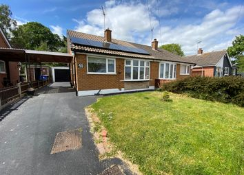 Thumbnail 2 bed semi-detached house to rent in Cotswold Close, Littleover, Derby