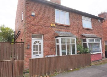 Thumbnail 3 bed semi-detached house for sale in Linden Street, Nottingham