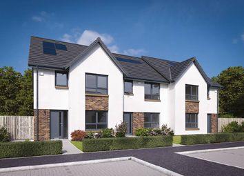 "Thumbnail 3 bedroom terraced house for sale in ""The Allan"" at Flures Crescent, Erskine"