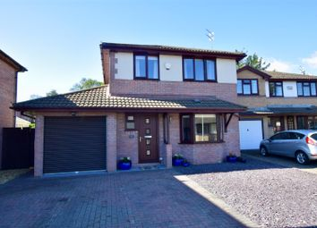 Thumbnail 4 bed detached house for sale in Ynysddu, Pontyclun
