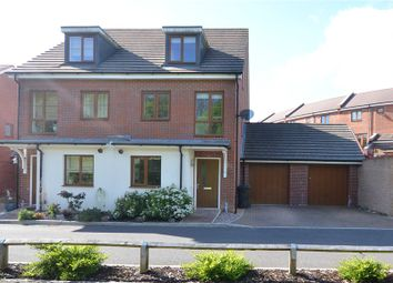 Thumbnail 3 bedroom semi-detached house for sale in Sheepwash Court, Basingstoke, Hampshire