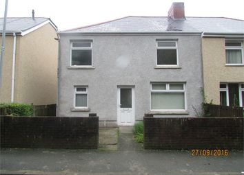 Thumbnail 3 bed semi-detached house to rent in Mount View Terrace, Port Talbot, Mid Glamorgan