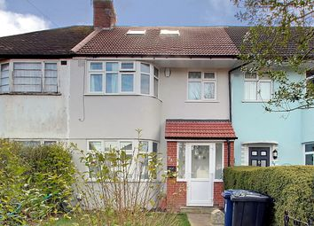 Thumbnail 4 bed terraced house for sale in Rugby Avenue, Greenford