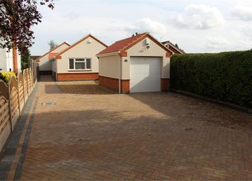 Thumbnail 3 bed detached bungalow for sale in Leicester Road, Broughton Astley, Leicester