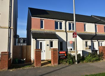 Thumbnail 2 bed end terrace house for sale in Tillhouse Road, Cranbrook, Near Exeter
