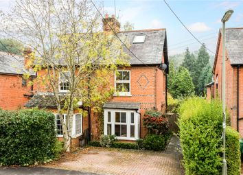 Thumbnail 3 bed semi-detached house for sale in Chertsey Road, Windlesham, Surrey