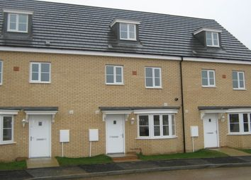 Thumbnail 4 bed terraced house to rent in Apollo Avenue, Farcet, Peterborough