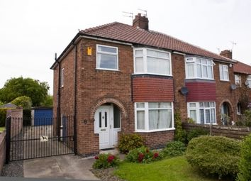 Thumbnail 3 bedroom semi-detached house to rent in 131 Heslington Lane, York
