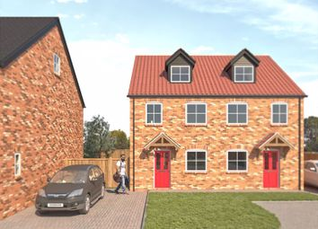 Thumbnail 3 bed semi-detached house for sale in North Street, Crowle, Scunthorpe