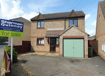 Thumbnail 3 bedroom detached house for sale in Station Road, Whittlesey, Peterborough