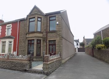 Thumbnail 3 bed end terrace house for sale in Tanygroes Street, Port Talbot, Neath Port Talbot.