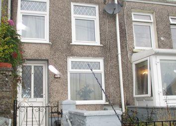 Thumbnail Terraced house for sale in Gough Road, Ystalyfera, Swansea.