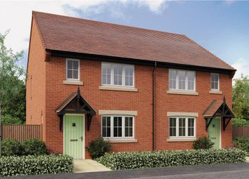 "Thumbnail 3 bedroom semi-detached house for sale in ""Pushkin"" at Burton Road, Streethay, Lichfield"