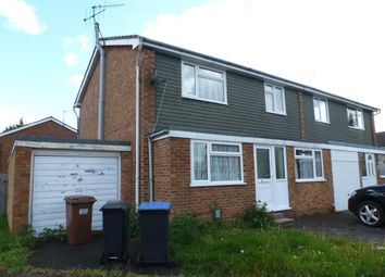 Thumbnail 4 bed semi-detached house to rent in Manor Close, Hatfield