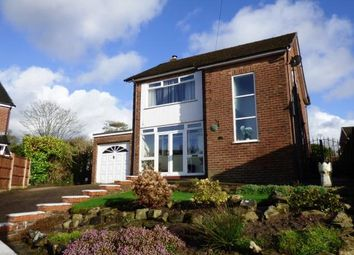 Thumbnail 3 bed detached house for sale in Arnside Close, High Lane, Stockport, Greater Manchester