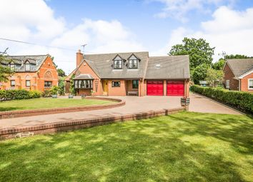 Thumbnail 4 bed detached house for sale in Sarn Road, Threapwood, Malpas