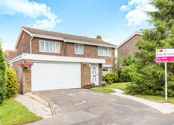 Thumbnail 5 bedroom detached house for sale in Crofton Way, Swanmore, Southampton