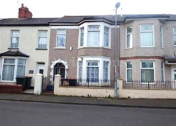 Thumbnail 4 bed terraced house for sale in Constance Street, Off Caerleon Road, Newport.