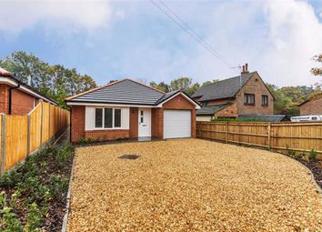 Thumbnail 3 bedroom detached bungalow for sale in Manor Road, New Milton