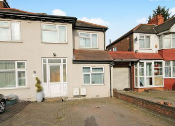 Thumbnail 1 bed end terrace house for sale in Langdale Gardens, Perivale, Greenford