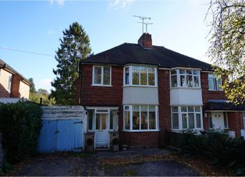 Thumbnail 3 bed semi-detached house for sale in Charles Street, Warwick