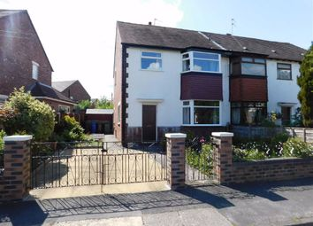Thumbnail 3 bed semi-detached house for sale in Hartington Road, Great Moor, Stockport