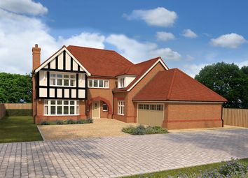 "Thumbnail 5 bed detached house for sale in ""Sandringham"" at Walnut Lane, Hartford, Northwich"