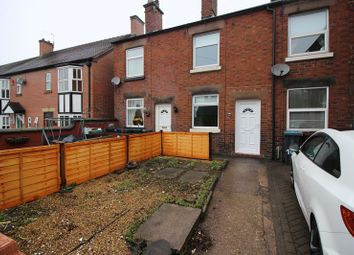 Thumbnail 1 bed terraced house for sale in Southbank Street, Leek, Staffordshire