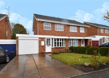 Thumbnail 3 bed semi-detached house for sale in Edgmond Close Winyates West, Redditch