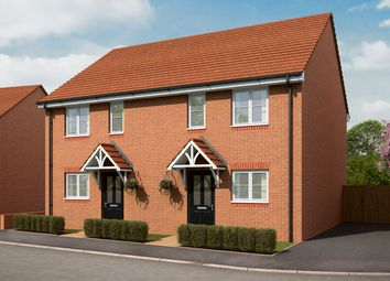"Thumbnail 3 bed semi-detached house for sale in ""The Wyckham"" at Bartons Road, Havant"