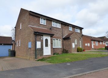 Thumbnail 3 bed semi-detached house for sale in Otter Drive, Mulbarton, Norwich